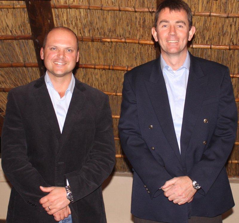 Op die foto van Links na Regs:  Jacques Breytenbach en Hoffman Prinsloo