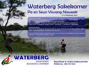 Waterberg Sakekamer Pa en Seun Visvang Naweek – 12-14 September 2014