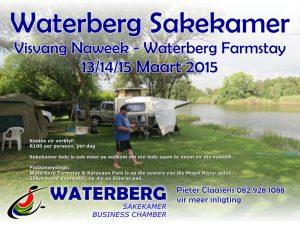 Visvang naweek by Waterberg Farmstay 13/14/15 Maart 2015!