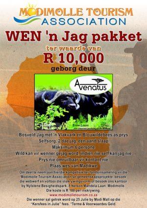 Wen 'n Jag Pakket ter waarde van R 10,000!
