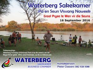 Waterberg Sakekamer Pa en Seun Visvang Naweek 16 Sep 2016