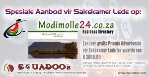 Spesiale Aanbod vir Waterberg Sakekamer Lede op Modimolle24.co.za