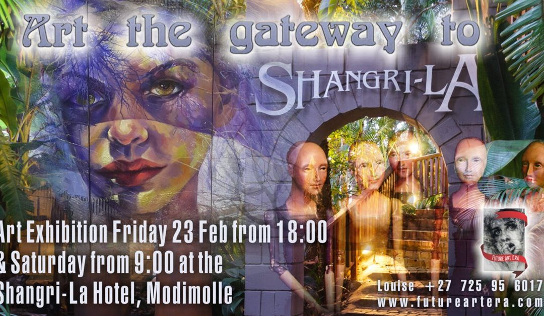 Art the gateway to Shangri-La – Art Exhibition Invite