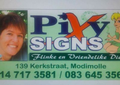 Pixy Signs